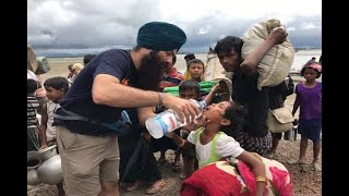 Humanity Above All! Sikh Volunteers Serve Iftar To 5000 Syrian Refugees In Lebanon | ABP News