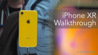 Apple iPhone XR walkthrough