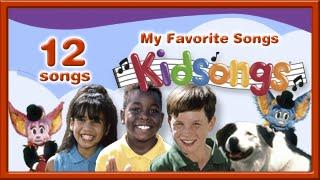 Kidsongs: My Favorite Songs| Nursery Rhymes | 5 Little Monkeys | Old MacDonald |1 2 3 | PBS Kids |