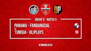 Panama vs Tunisia   FanDanGoal vs OliPlays   Football Manager 2018   #FMWorldCup