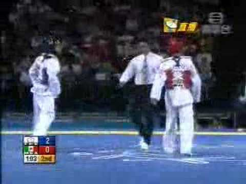 2004年雅典奧運跆拳道� 事