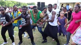 Ghana Party in the Park 2016 | MOVEWITHKB