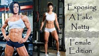 Exposing A Fake Natty Female Edition Feat. Dana Linn Bailey + Michelle Lewin! - Cory McCarthy -