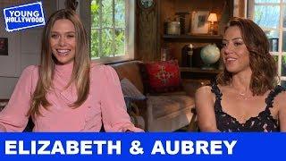 Aubrey Plaza & Elizabeth Olsen: