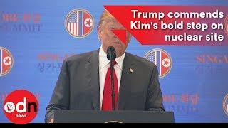 Donald Trump and Kim Jong-un summit