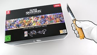 Unboxing Super Smash Bros. Ultimate Limited Edition + Pro Controller (Nintendo Switch)