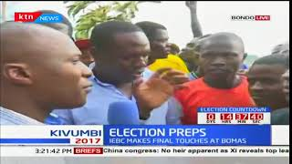Bondo, Siaya county residents' reactions to the repeat elections expected tomorrow