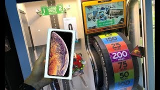 Won Apple iPhone XS MAX from Arcade Game! | JOYSTICK