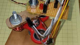 Make a Brushless Motor from a Fidget Spinner