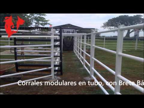 CORRALES MODULARES EN TUBO