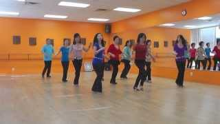 Heart On A String - Line Dance (Dance & Teach in English & 中文)