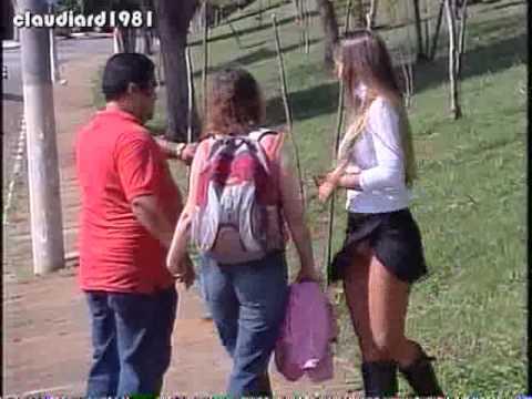 Relógio na Calcinha Pegadinha com Vivi Fernandez Programa Silvio Santos
