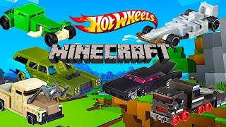 New Hot Wheels Minecraft Character Cars!