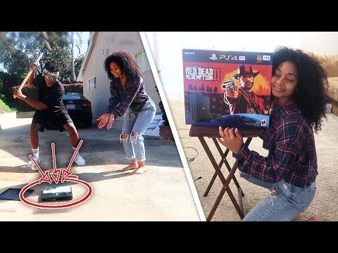 Destroying My Girl Duos Partner's ONLY PS4 & Surprising Her w A BRAND NEW ONE