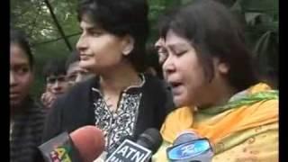 Outburst of Mishuk Munier's wife