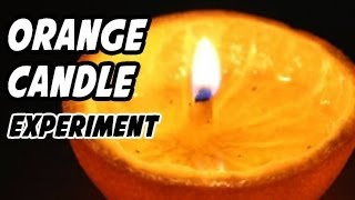 How to Make a Home Made Candle from an Orange