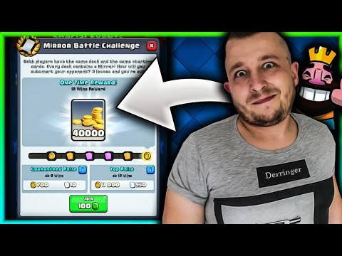 GRAMY MIRROR BATTLE CHALLENGE! CLASH ROYALE POLSKA