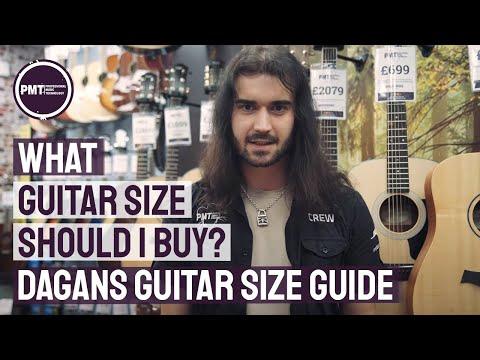 What Guitar Size Should I Buy? - Dagans Guitar Size Guide