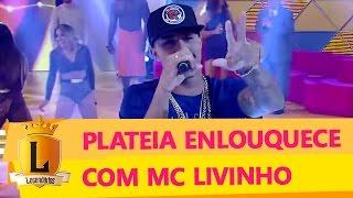MC Livinho canta no Legendários e leva a plateia à loucura