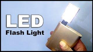 How to make Super Bright LED Flashlight