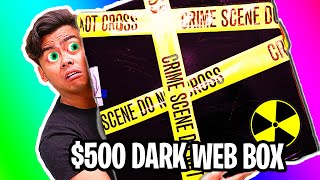 UNBOXING a $500 Dark Web Mystery Box!