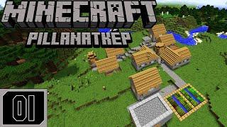 Minecraft Pillanatkép Magyar Sorozat 1. Rész | Új Kezdet