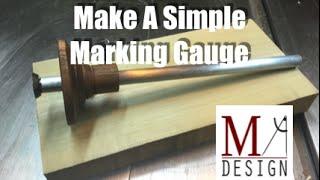 Making a Marking Gauge -046