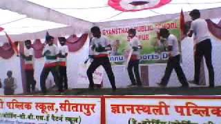 Underground authority dance group, Gyansthali public school sitapur.3gp