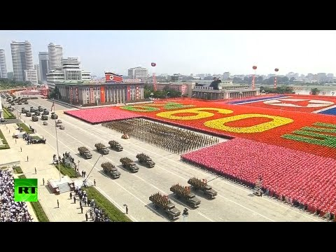 Xxx Mp4 Parade Pageantry In Pyongyang N Korea Marks 60 Yrs Since Korean War Armistice 3gp Sex