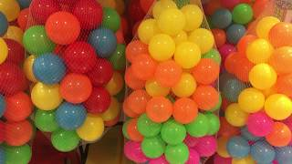 Colors for Children Learn with Color Balls | Learn colors for kids with balls