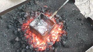 Making a blacksmith forge