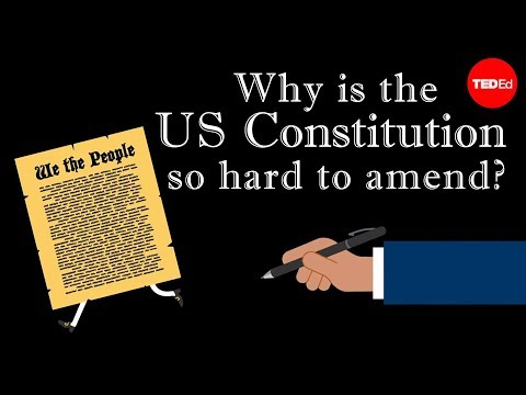 watch Why is the US Constitution so hard to amend? - Peter Paccone
