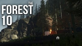 THE FOREST [HD+] #010 - Kleine Festung ★ Let's Play The Forest
