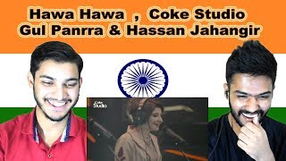 Indian reaction on Hawa Hawa | Gul Panrra & Hassan Jahangir | Coke Studio | Swaggy d