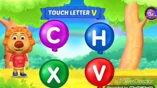 تعليم الحروف الانجليزية للأطفال