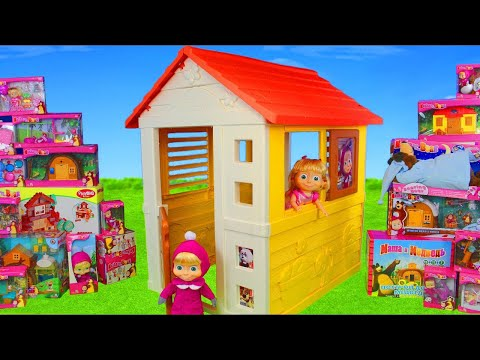 Xxx Mp4 Masha And The Bear Unboxing Playhouse Dolls Surprise Toy Vehicles Amp Kitchen For Kids 3gp Sex