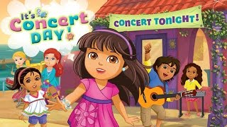 Dora and Friends into the City Concert Game I Dora and Friends Return to the Rainforest