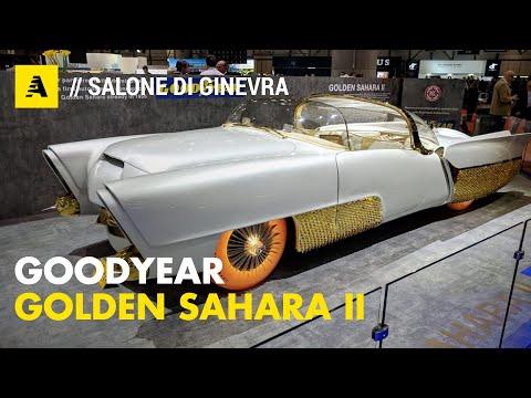 Golden Sahara II e non solo L auto quasi autonoma dagli anni 50 insieme alle ruote del futuro