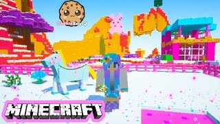 Cookieswirlc minecraft game play sugar world animals baby elephant
