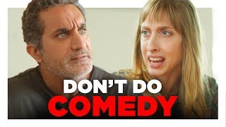 Comedy Sucks (with Bassem Youssef) | Hardly Working