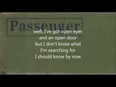 Passenger Whispers lyrics on screen studio version