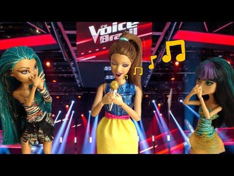 Xxx Mp4 Vida De Boneca 24 Stop Motion Barbie Monster High The Voice Dolls 3gp Sex