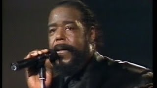 Barry White - Live at Flanders Expo, Belgium