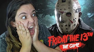 OS MELHORES MOMENTOS DO JASON - Friday the 13th: The Game