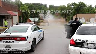 06-23-19 Anderson, MO Homes Flooding and Bridge Washed Out