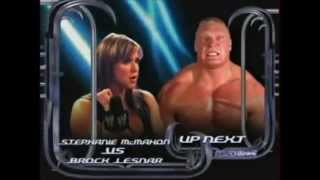 Brock Lesnar vs Stephanie Mcmahon