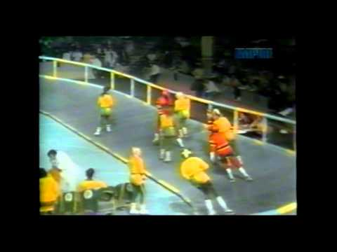 1973 Roller Derby Chiefs vs Bombers 1st Half
