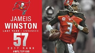 #57 Jameis Winston (QB, Buccaneers) | Top 100 Players of 2017 | NFL