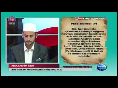 Abdulkerim Ileri / Hac Suresi 34-38