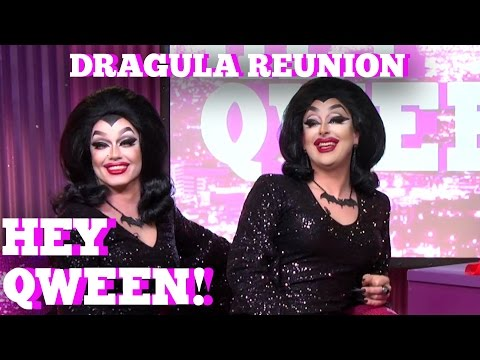 The Boulet Brother's DRAGULA Reunion on Hey Qween! With Jonny McGovern Part 1